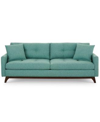 Amazing Nari Tufted Back Sofa With 2 Toss Pillows, Created For Macyu0027s   Furniture    Macyu0027s