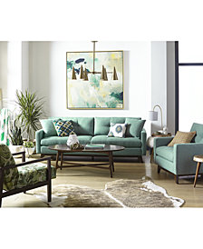 Nari Tufted Back Sofa Collection, Created for Macy's