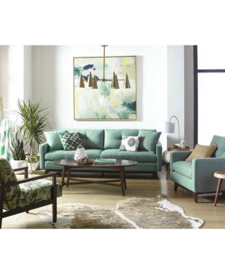 nari tufted back sofa collection created for macyu0027s - Flexsteel Sofas