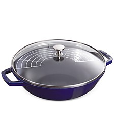 Enameled Cast Iron 4.5-Qt. Perfect Pan with Lid