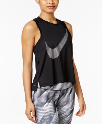 brick color tank tops nike sportswear bonded tank top tops women macys