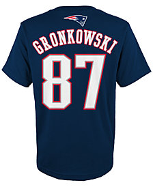 Outerstuff  NFL Rob Gronkowsk T-Shirt, Little Boys (4-7)
