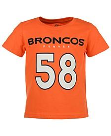 Von Miller Denver Broncos Mainliner Player T-Shirt, Toddler Boys