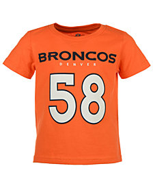 Outerstuff Von Miller Denver Broncos Mainliner Player T-Shirt, Toddler Boys