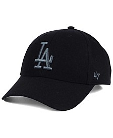 Los Angeles Dodgers MVP Black and Charcoal Cap