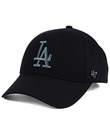 '47 Brand Los Angeles Dodgers MVP Black and Charcoal Cap