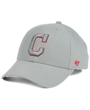 '47 Brand Cleveland Indians Mvp Gray Tc Pop Cap