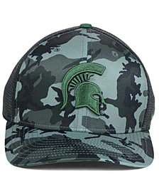 Nike Michigan State Spartans Camo Hook Swooshflex Cap