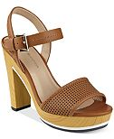 Tommy Hilfiger Weslee Perforated Platform Sandals