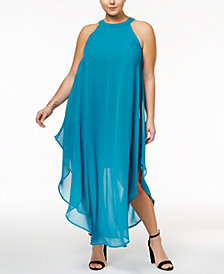 Love Squared Plus Size Maxi Shift Dress