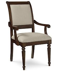 Syrah Upholstered Back Armchair