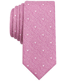 Bar III Men's Bella Dona Dot Slim Tie, Created for Macy's