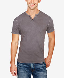 Lucky Brand Men's Sunkist Henley Cotton T-Shirt