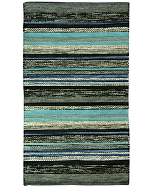 Mollins 100% Cotton Stripe Accent Rug Collection