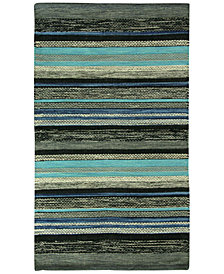 Jessica Simpson Mollins 100% Cotton Stripe Accent Rug Collection