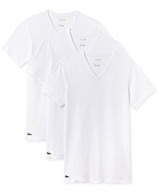 Men's 3 Pack Cotton V-Neck Undershirts