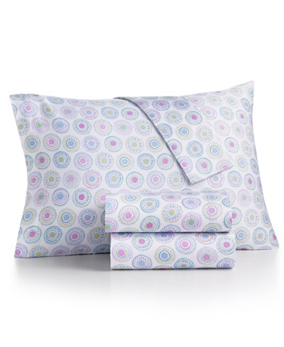 CLOSEOUT! bluebellgray 230 Thread Count Printed Full Sheet Set