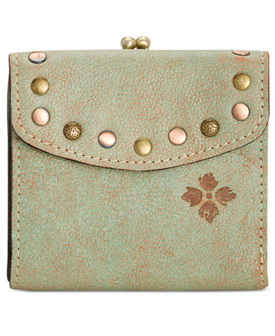 Patricia Nash Washed Denim Rieti Bi-Fold Wallet