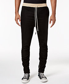 Jaywalker Men's Slim-Tapered Fit Ruched Joggers, Created for Macy's