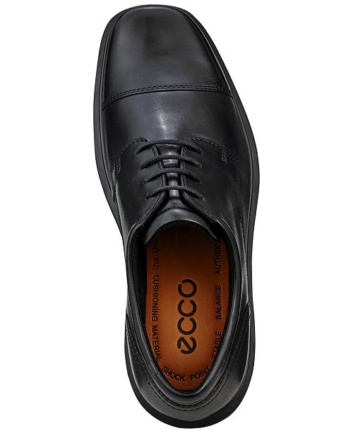 Ecco Men s Helsinki Cap Toe Oxfords - All Men s Shoes - Men - Macy s ac72af140086