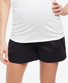 Motherhood Maternity Cuffed Shorts
