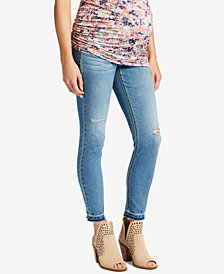 Jessica Simpson Maternity Medium Wash Ankle Jeans