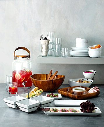 The Cellar Whiteware Serveware Entertaining Collection, Created for ...