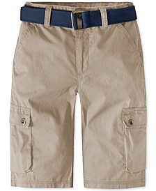 Westwood Cotton Cargo Shorts, Little Boys