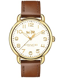 Women's Delancey Brown Leather Strap Watch 36mm 14502715