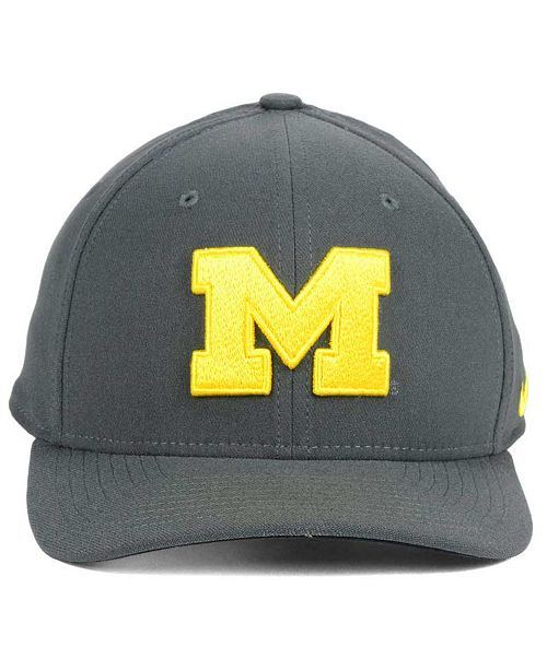 db7f5863 ... switzerland nike michigan wolverines classic swoosh cap sports fan shop  by lids men macys 195f8 7b0dd