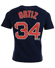 Majestic Toddlers' David Ortiz Boston Red Sox Official Player T-Shirt