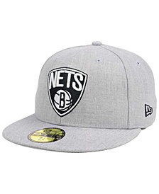New Era Brooklyn Nets All Heather 59FIFTY Cap