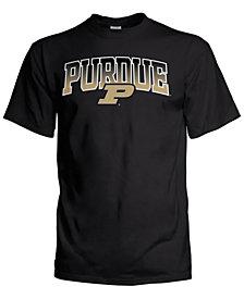 J America Men's Purdue Boilermakers Gradient Arch T-Shirt