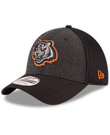 New Era Cincinnati Bengals Black Heather Neo 39THIRTY Cap