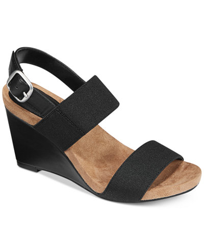 Style & Co Fillipi Wedge Sandals, Only at Macy's - Sandals - Shoes - Macy's