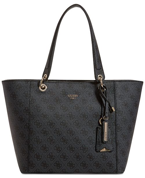 b50db3f07a6e GUESS Kamryn Signature Tote   Reviews - Handbags   Accessories - Macy s
