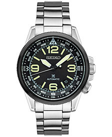 Seiko Men's Prospex Automatic Stainless Steel Bracelet Watch 42mm SRPA71