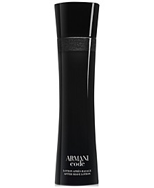 Giorgio Armani Code After Shave Lotion, 3.4 oz.