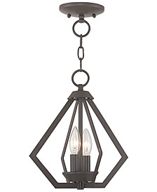 Livex Prism 2- Light Metal Mini Pendant