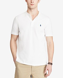 Polo Ralph Lauren Men's Custom Slim-Fit Mesh Henley