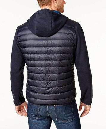 Michael Kors Men's Packable Hooded Quilted Jacket - Coats ... : mens lightweight quilted jacket - Adamdwight.com