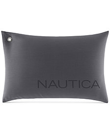 "CLOSEOUT! Nautica Seaward Twill 14"" x 20"" Decorative Pillow"