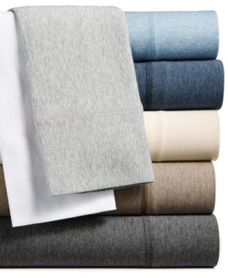 calvin klein modern cotton modal knit sheet collection - Jersey Knit Sheets