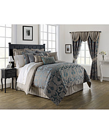 Waterford Reversible Chateau Queen 4-Pc. Comforter Set
