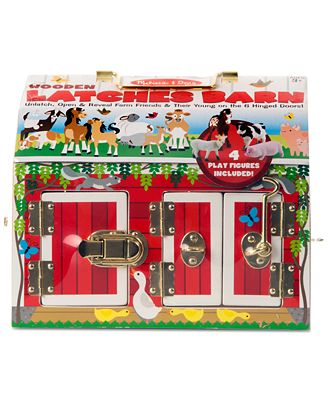 Melissa & Doug Latches Barn Set