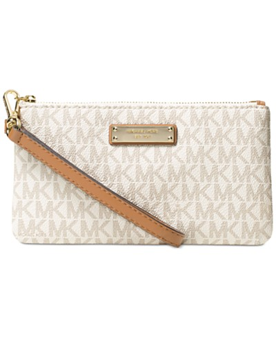 MICHAEL Michael Kors Signature Jet Set Item Medium Wristlet