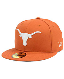 New Era Texas Longhorns Classic Wool Fitted 59FIFTY Cap