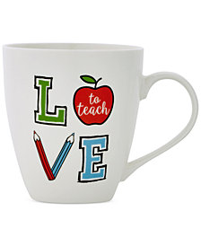 Pfaltzgraff Love To Teach Mug