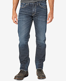 Silver Jeans Co. Men's Eddie Relaxed Fit Taper Jeans