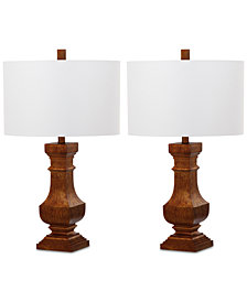 Safavieh Set of 2 Wagner Table Lamps